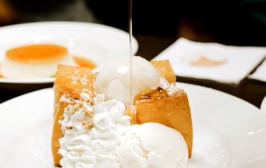 Sweet Toast and Ice Cream